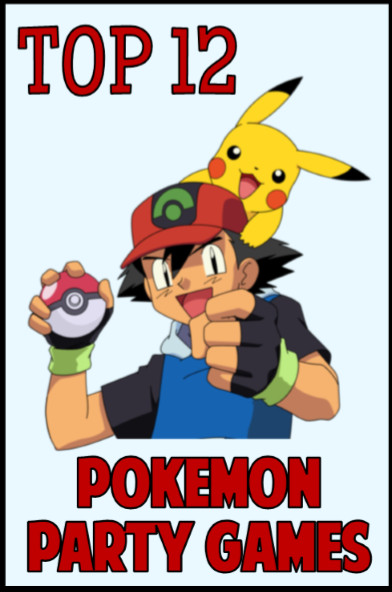 Best Birthday Party Games  Best 25 Pokemon games party ideas on Pinterest