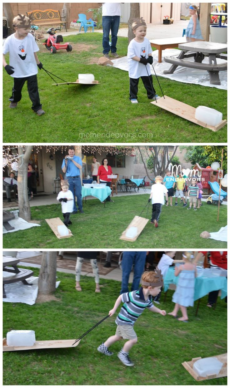 Best Birthday Party Games  Best 25 Frozen party games ideas on Pinterest