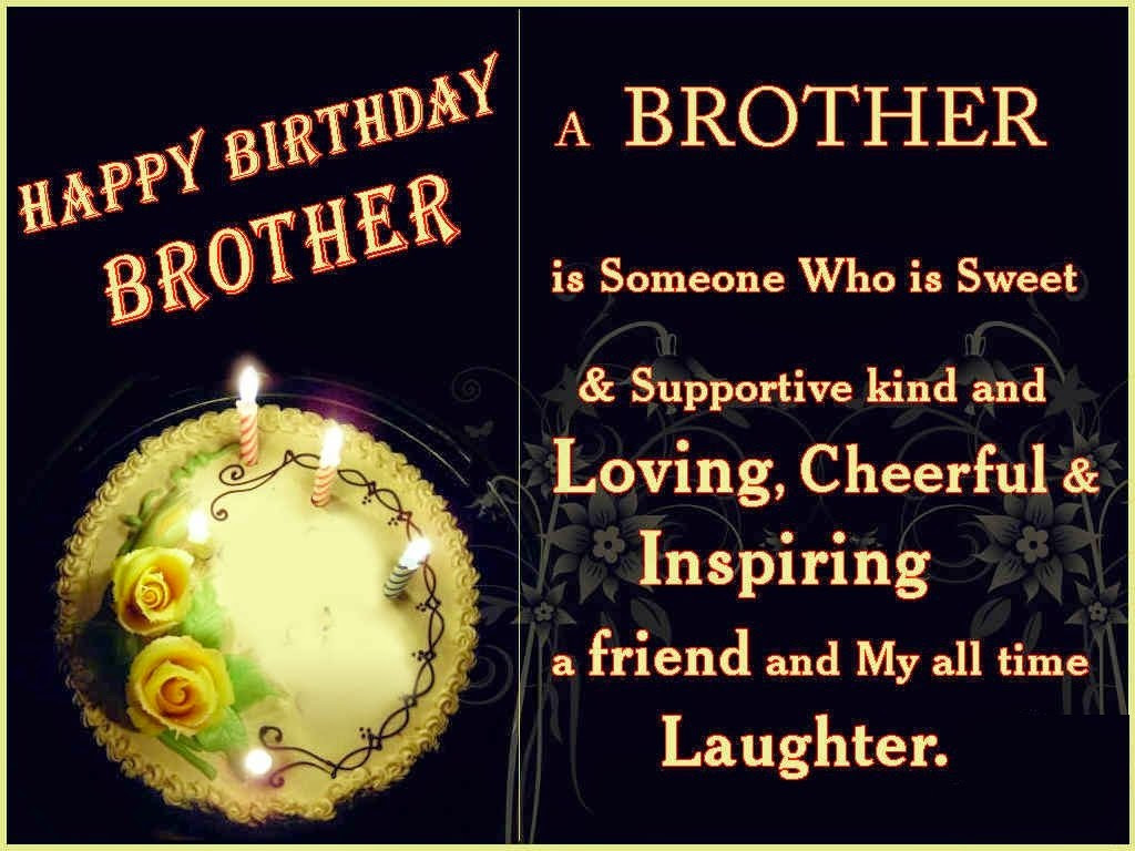 Best Birthday Quotes For Brother  HD BIRTHDAY WALLPAPER Happy birthday brother