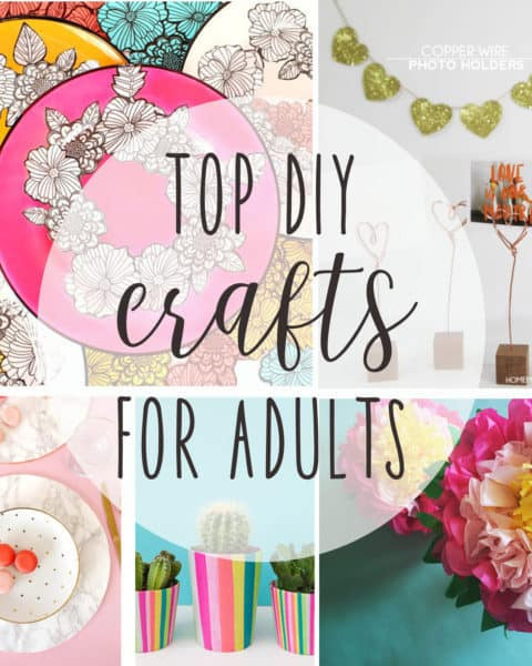 Best Crafts For Adults  top DIY crafts for adults