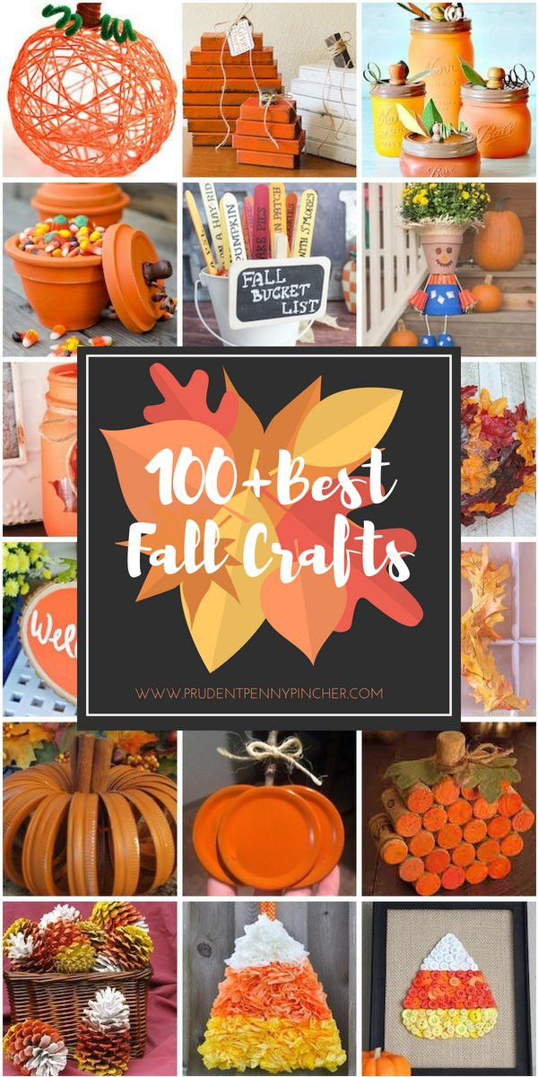 Best Crafts For Adults  100 Best Fall Crafts for Adults Prudent Penny Pincher