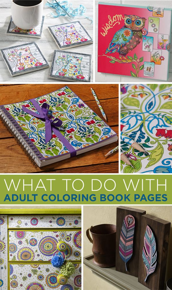 Best Crafts For Adults  25 Best Ideas about Coloring Books on Pinterest