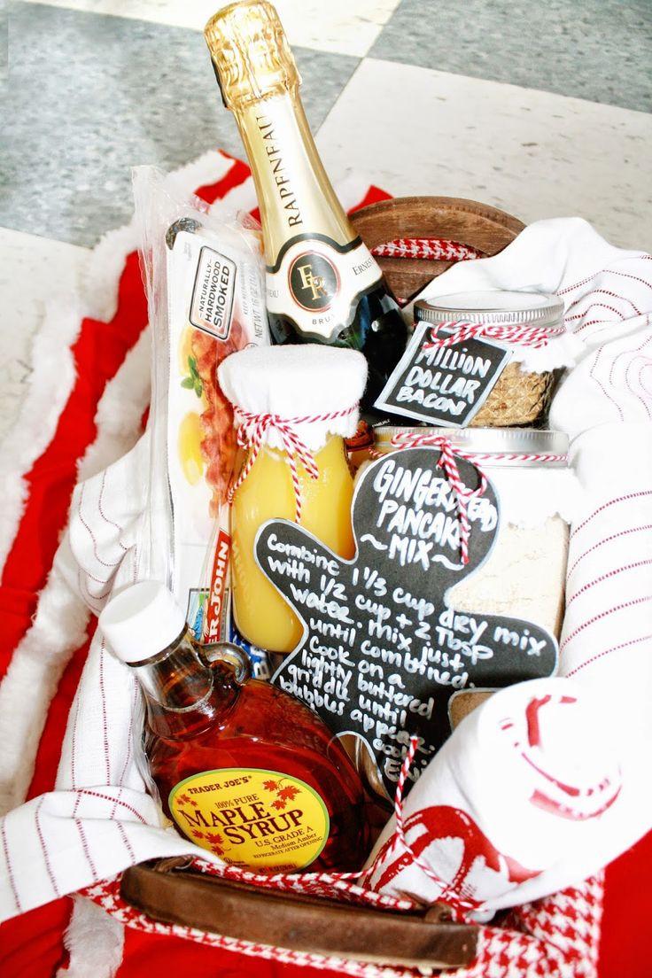 Best Gift Basket Ideas  Best 25 Breakfast t baskets ideas on Pinterest