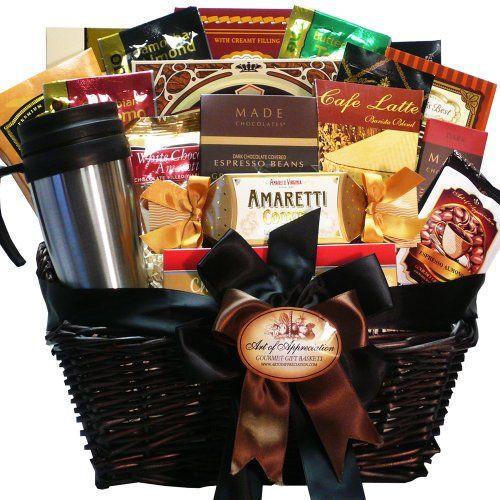Best Gift Basket Ideas  17 Best ideas about Coffee Gift Baskets on Pinterest