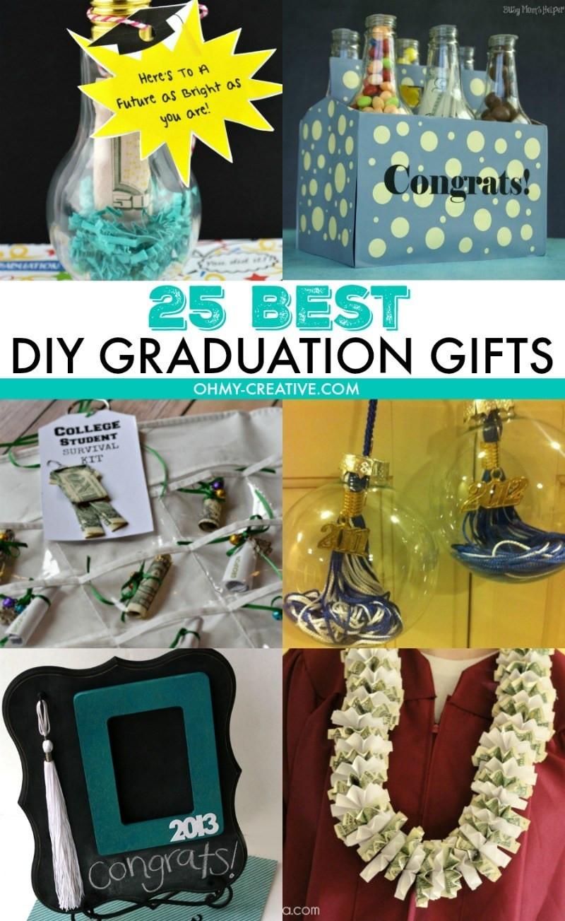Best Graduation Gift Ideas  25 Best DIY Graduation Gifts Oh My Creative