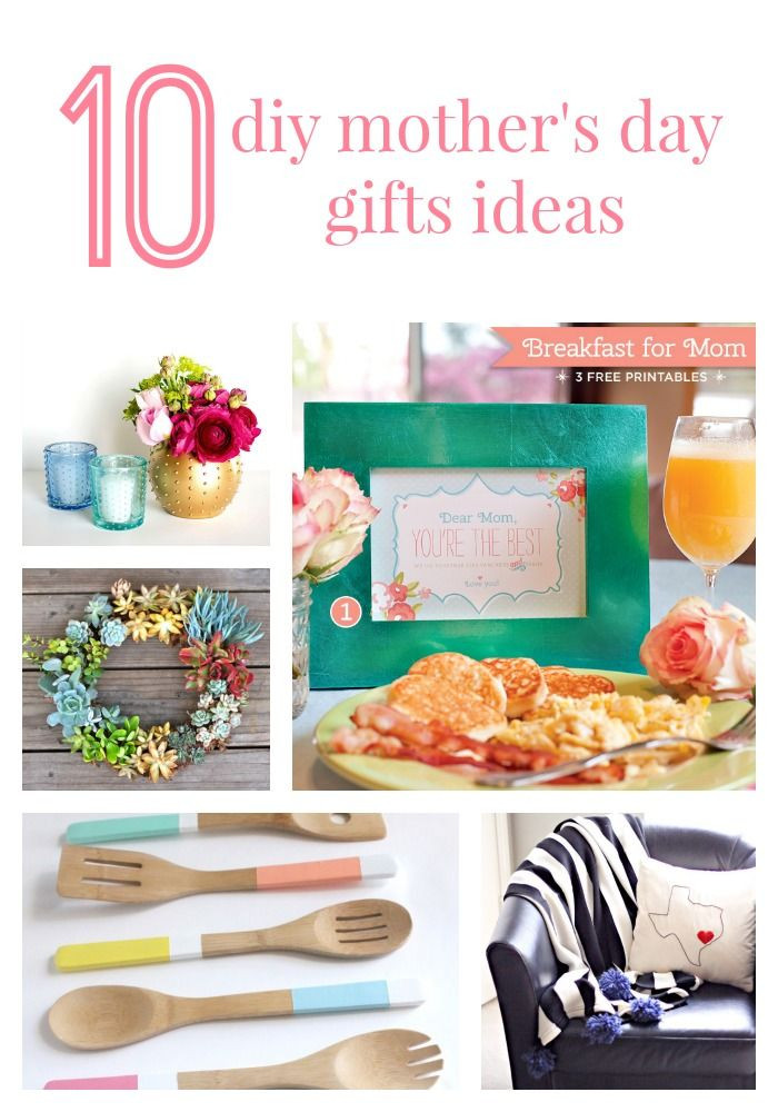 Best Mother Day Gift Ideas  10 simple DIY Mother s Day t ideas for all of the moms