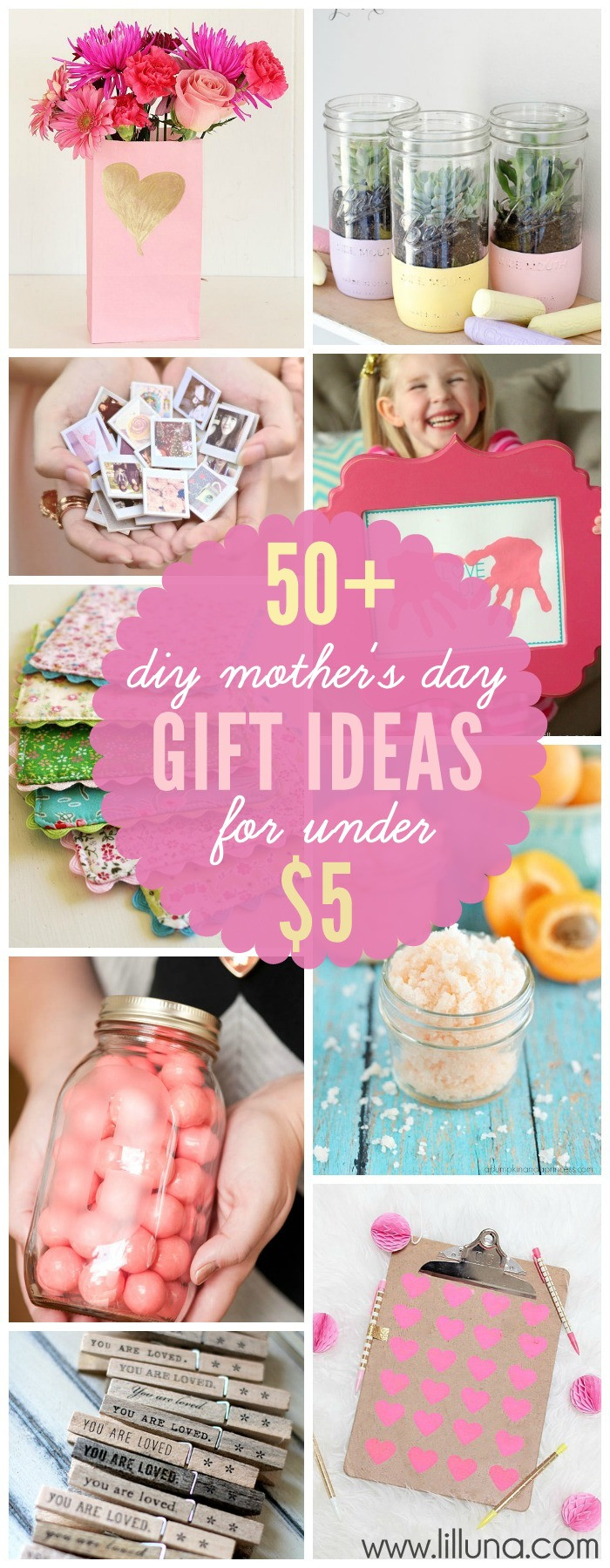 Best Mother Day Gift Ideas  Inexpensive DIY Mother s Day Gift Ideas