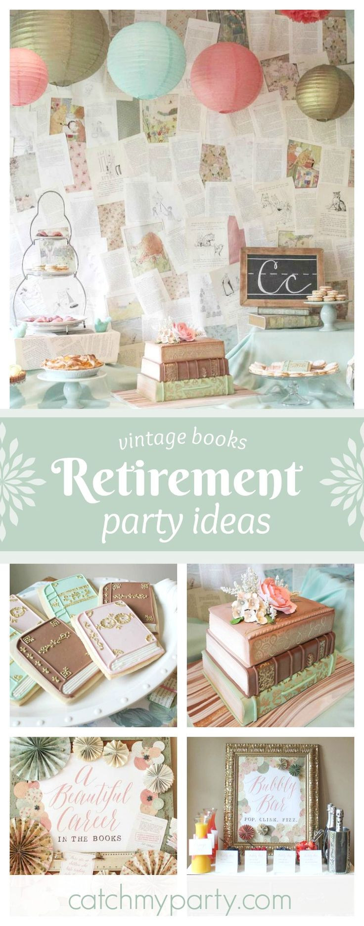 Best Retirement Party Ideas  Best 25 Retirement party themes ideas on Pinterest