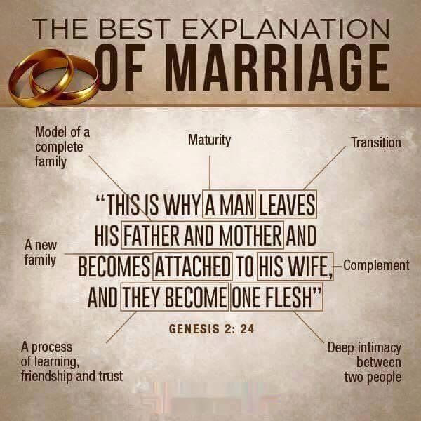 Bible Marriage Quotes  A great explanation and break down of Biblical marriage
