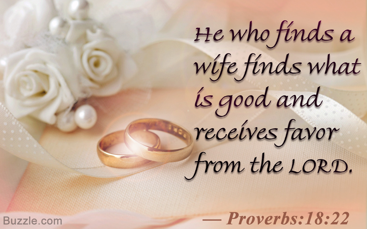 Bible Marriage Quotes  Inspirational Bible Verses About Marriage That You Must Read