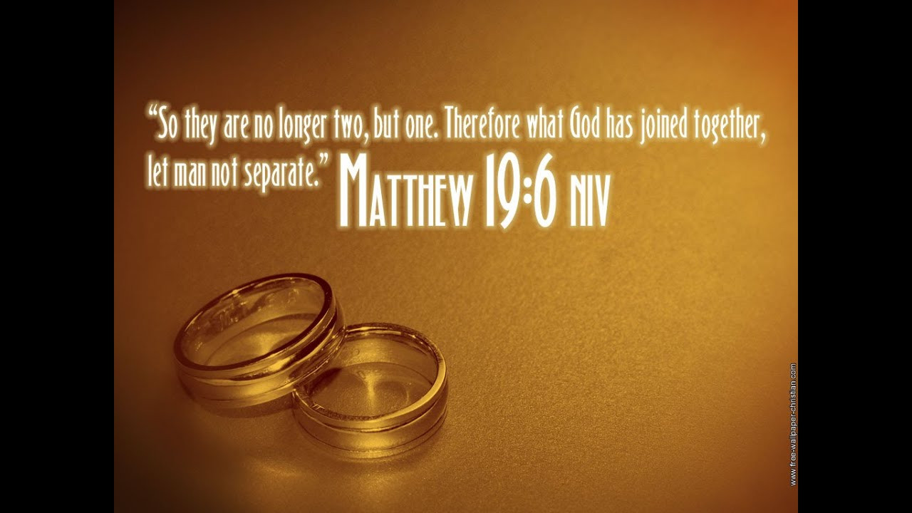 Bible Marriage Quotes  Bible verses about Marriage or Wedding