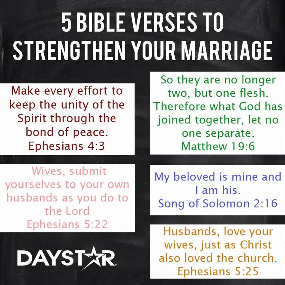 Bible Quotes Marriage  Five Bible Verses To Strenthen Your Marriage Religion
