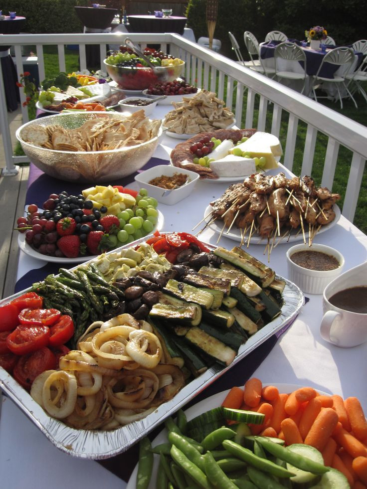 Big Party Food Ideas  25 best ideas about Outdoor party foods on Pinterest