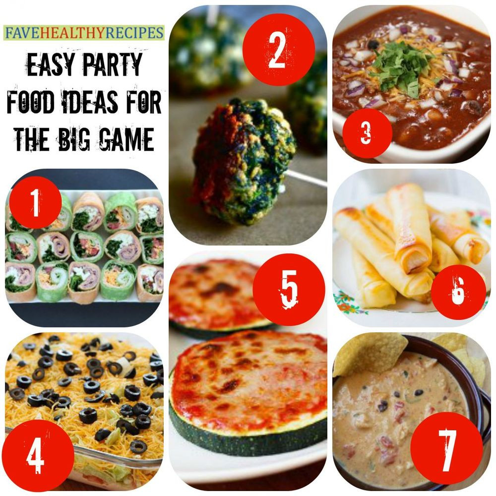 Big Party Food Ideas  32 Easy Party Food Ideas for the Big Game