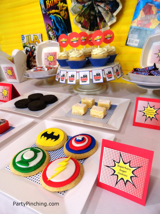 Big Party Food Ideas  Big Bang Theory tv show theme party ideas fun food and