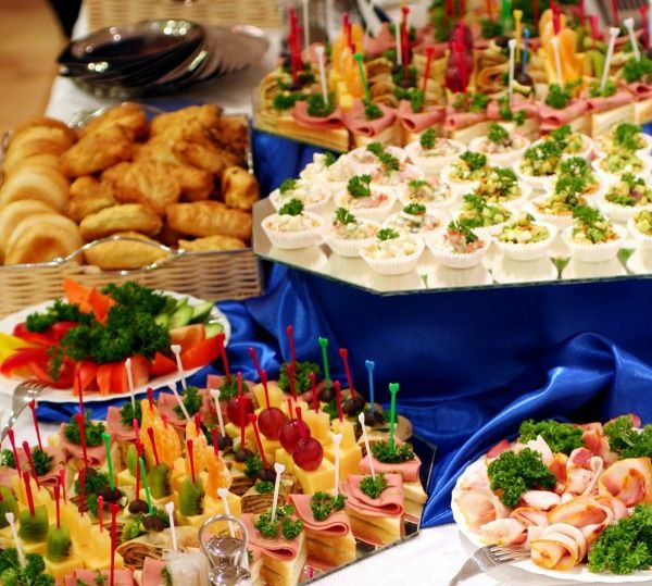 Big Party Food Ideas  90 best Recipes Group & Catering including Ideas Menus