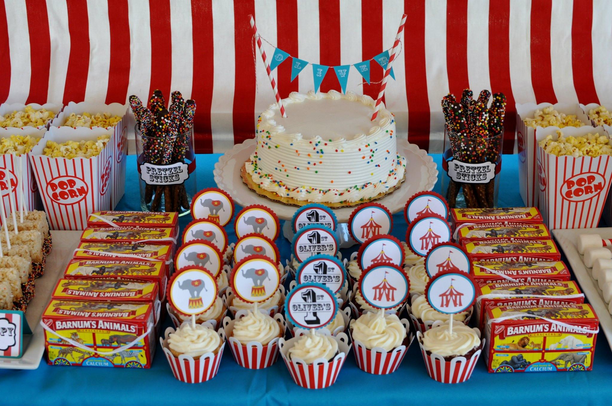 Big Party Food Ideas  Big Top Birthday Party