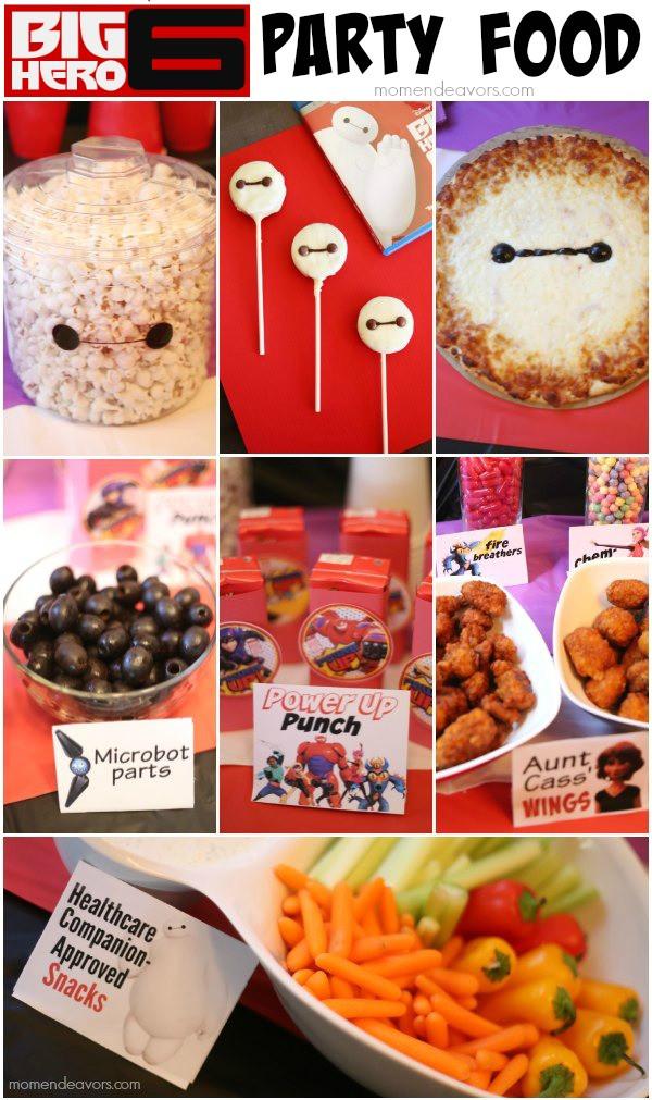 Big Party Food Ideas  Disney Big Hero 6 Party Decor Food & Activity Ideas