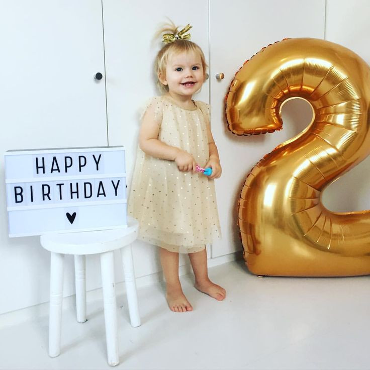 """Birthday Gift Ideas For 2 Year Old Baby Girl  Marie on Instagram """"Happy birthday to my little girl"""