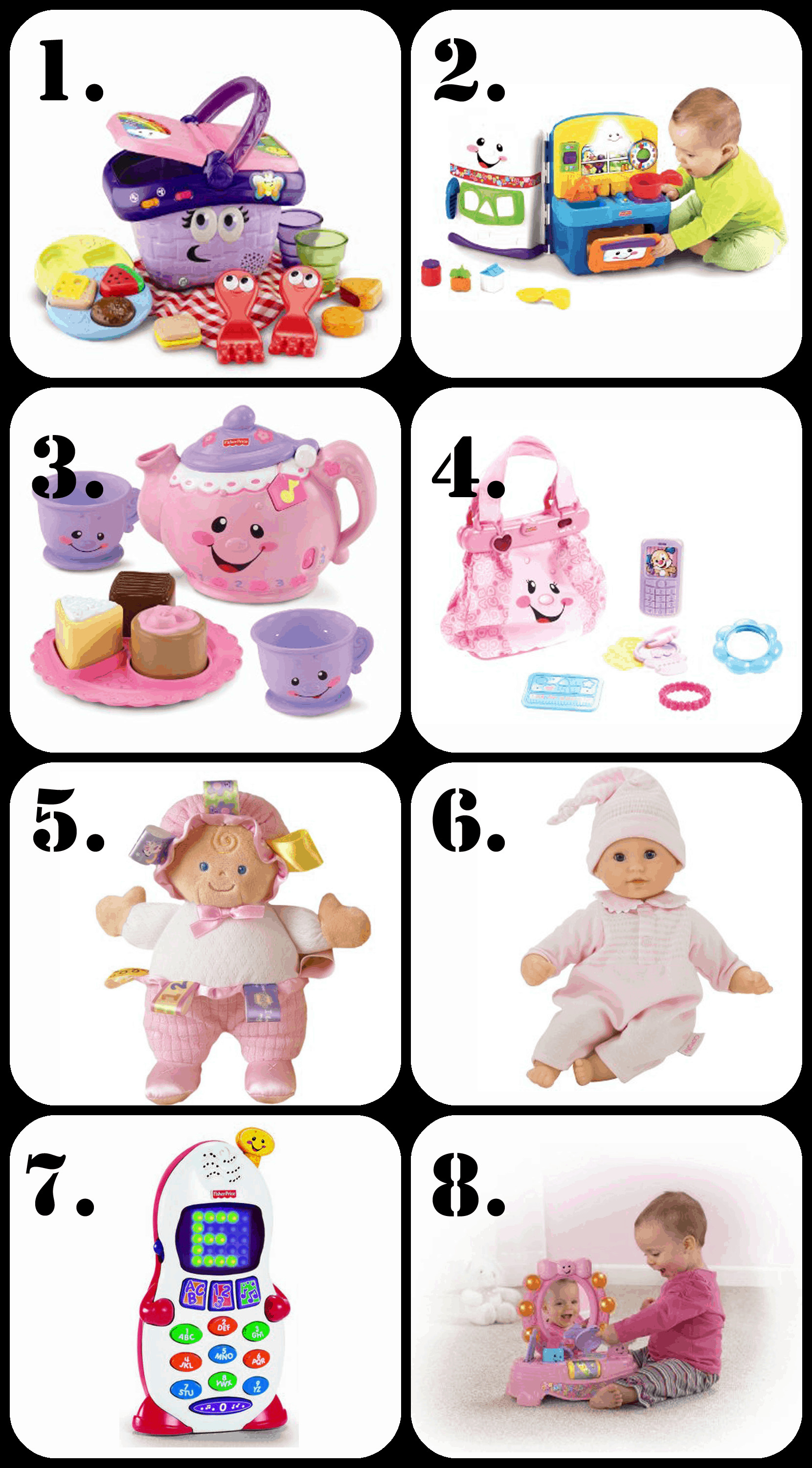 Birthday Gift Ideas For 2 Year Old Baby Girl  BEST Gifts for a 1 Year Old Girl • The Pinning Mama