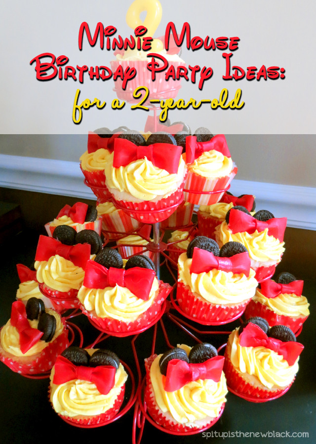 Birthday Gift Ideas For 2 Year Old Baby Girl  Minnie Mouse Birthday Party a 2 Year Old s Dream e