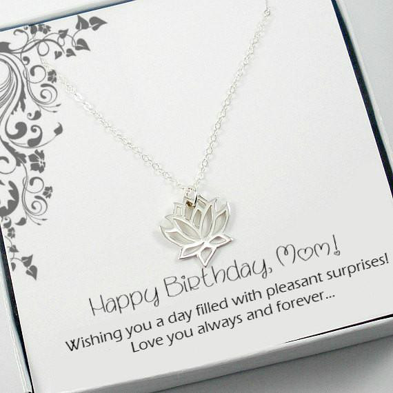 Birthday Gift Ideas Mother In Law  Birthday Gifts for Mom Mother in Law Sterling Silver