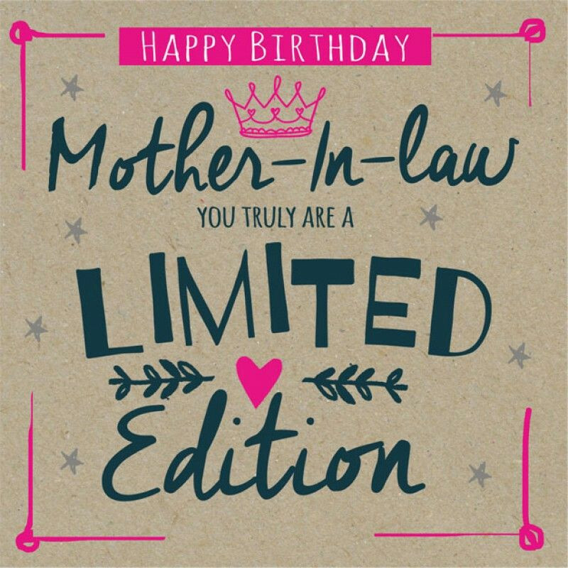 Birthday Gift Ideas Mother In Law  Mother in law Birthday Happy Birthday