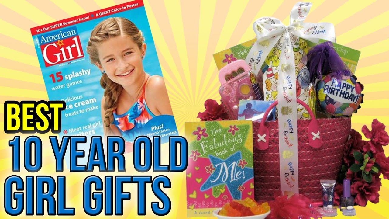 Birthday Gifts For 10 Year Old Daughter  10 Best 10 Year Old Girl Gifts 2016