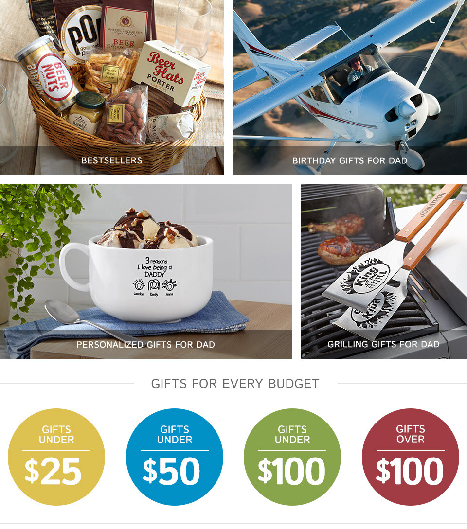 Birthday Gifts For Dads  Gifts For Dad Gifts