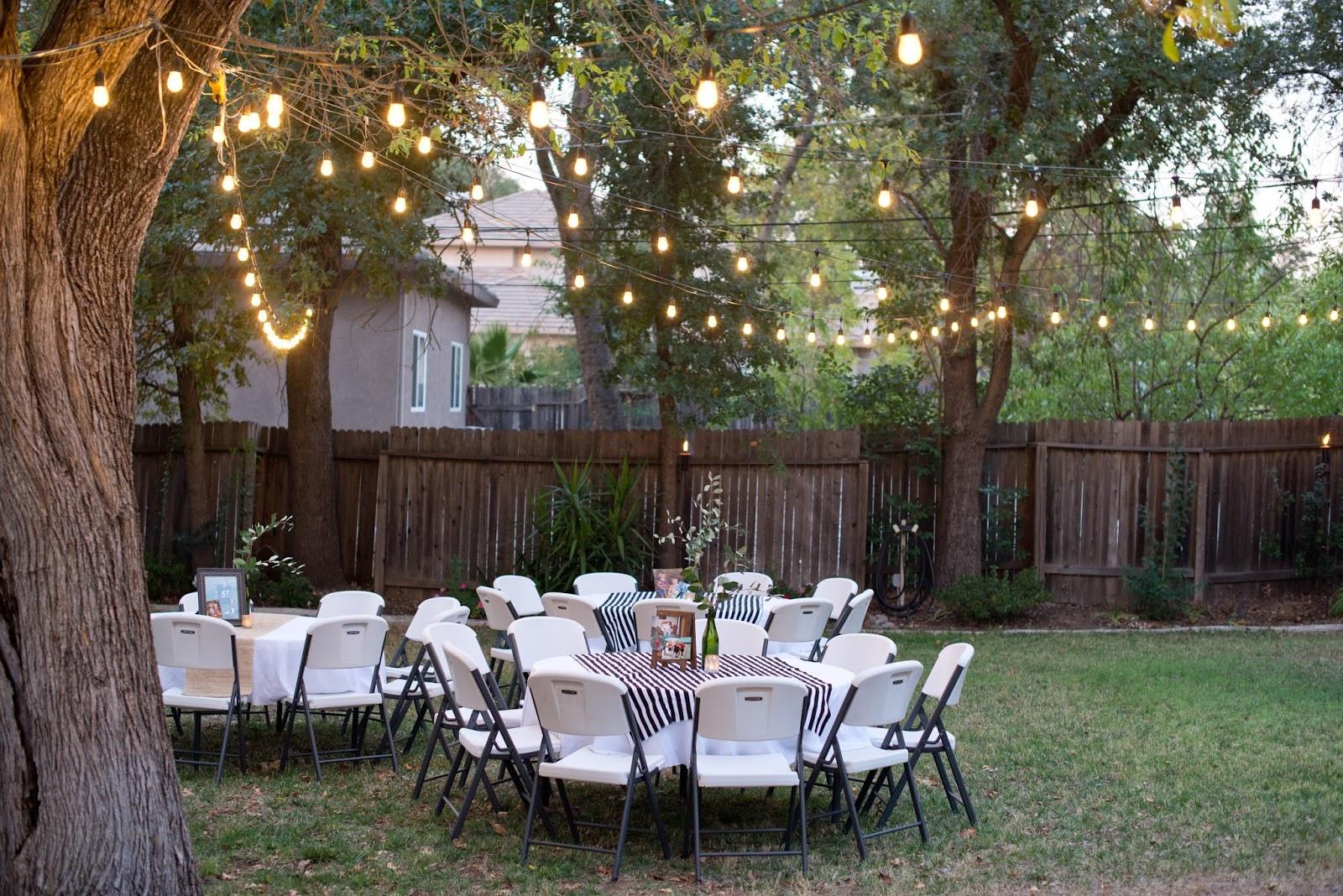 Birthday Party Ideas Backyard  Domestic Fashionista Backyard Birthday Party For the Guy