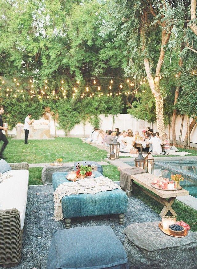 Birthday Party Ideas Backyard  25 best ideas about Backyard birthday parties on