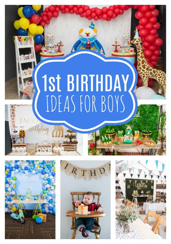 Birthday Party Ideas For Boys  18 First Birthday Party Ideas For Boys Pretty My Party