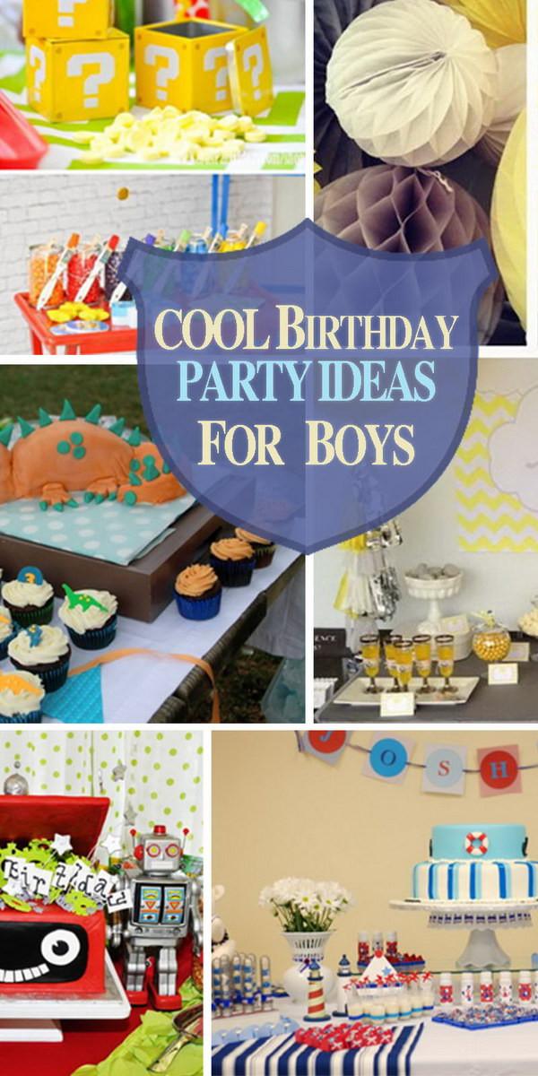 Birthday Party Ideas For Boys  Cool Birthday Party Ideas for Boys Hative