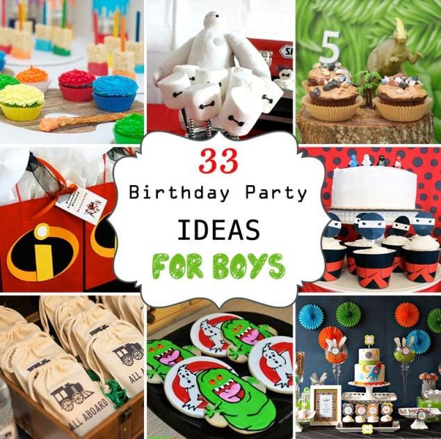 Birthday Party Ideas For Boys  33 Awesome Birthday Party Ideas for Boys