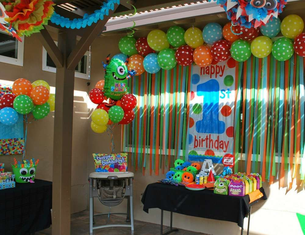 Birthday Party Ideas For Boys  Monsters Birthday Party Ideas in 2019