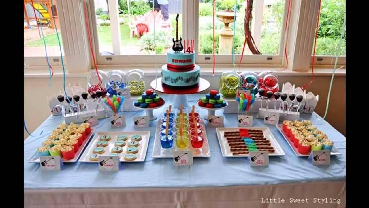 Birthday Party Ideas For Boys  Boys birthday party themes decoration ideas