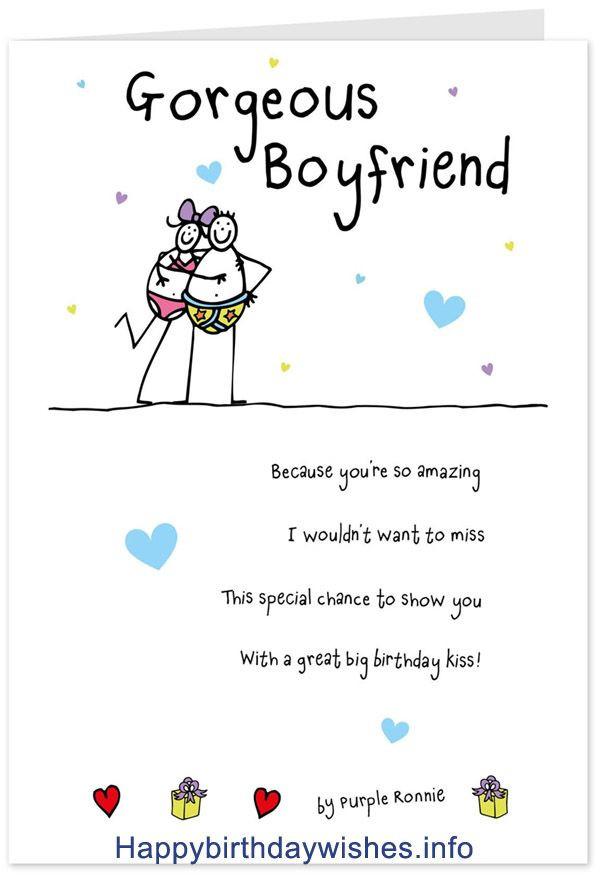 Birthday Quotes For Boyfriend  Best 25 Birthday wishes for boyfriend ideas on Pinterest
