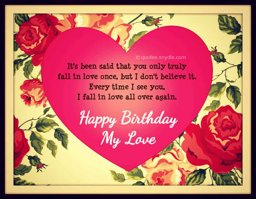 Birthday Quotes For Boyfriend  Birthday Quotes for Boyfriend Quotes and Sayings