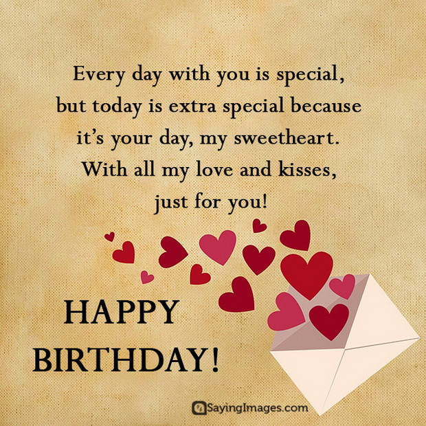 Birthday Quotes For Boyfriend  Sweet Happy Birthday Wishes for Boyfriend