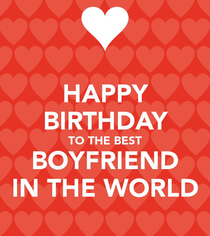 Birthday Quotes For Boyfriend  Happy Birthday for Boyfriend with love