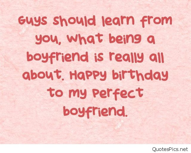 Birthday Quotes For Boyfriend  Happy birthday wishes cards for boyfriend