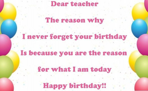 Birthday Quotes For Teacher  Funny Birthday Quotes For Teachers QuotesGram