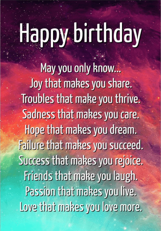 Birthday Quotes Inspirational  65 Best Encouraging Birthday Wishes and Famous Quotes