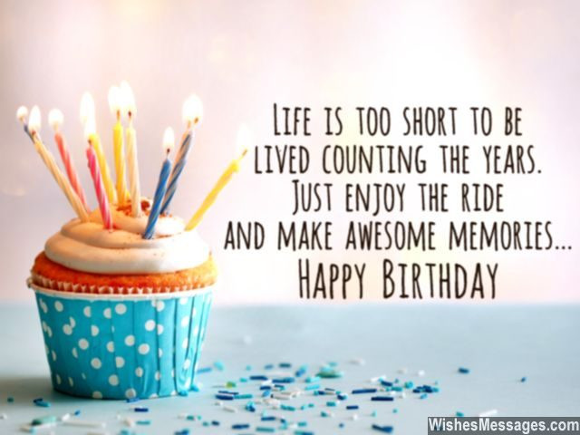 Birthday Quotes Inspirational  30th Birthday Wishes Quotes and Messages – WishesMessages