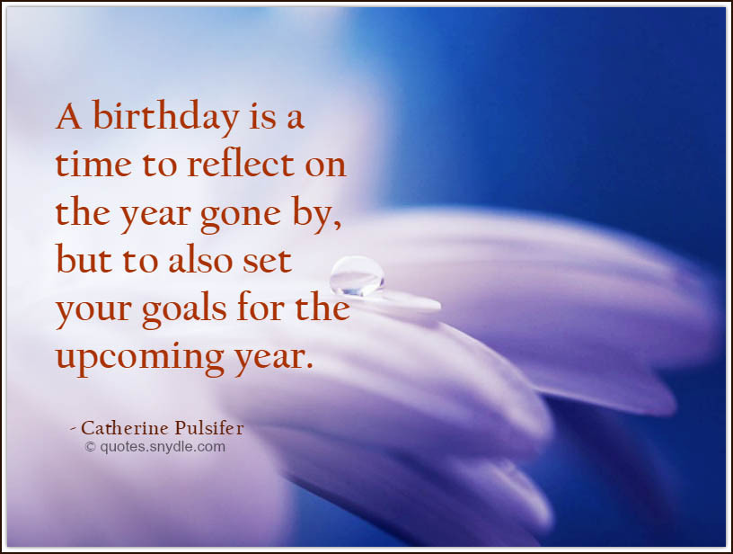 Birthday Quotes Inspirational  Inspirational Birthday Quotes Quotes and Sayings
