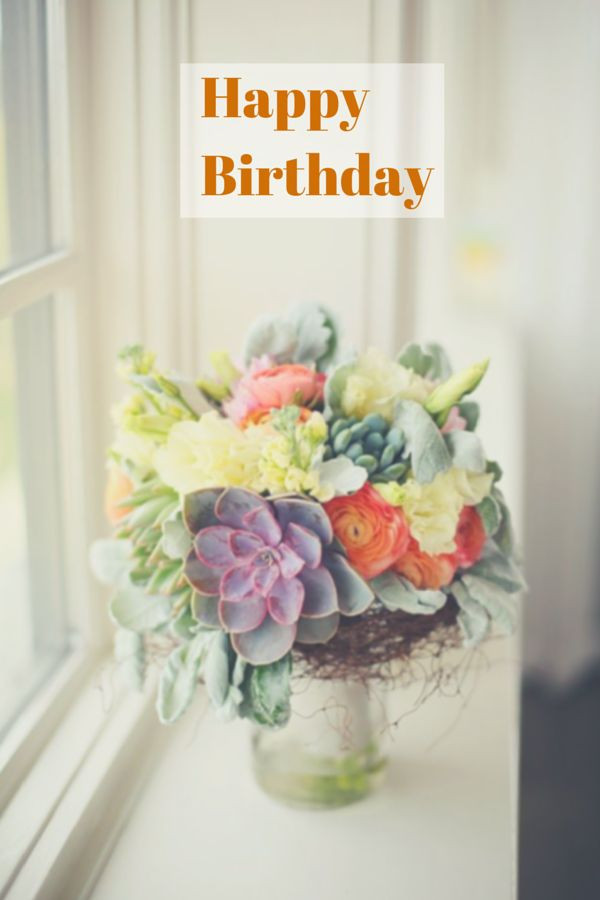 Birthday Quotes With Flowers  Best 25 Birthday card quotes ideas on Pinterest