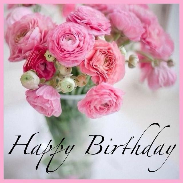 Birthday Quotes With Flowers  160 best Happy birthday flower images on Pinterest