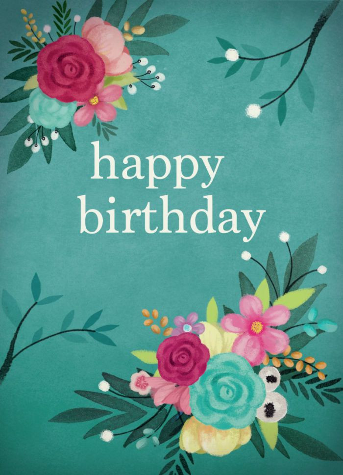 Birthday Quotes With Flowers  111 best images about Happy birthday flower on Pinterest