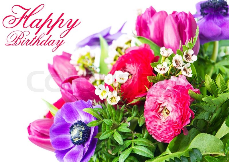 Birthday Quotes With Flowers  Flower Card Romantic Quotes QuotesGram