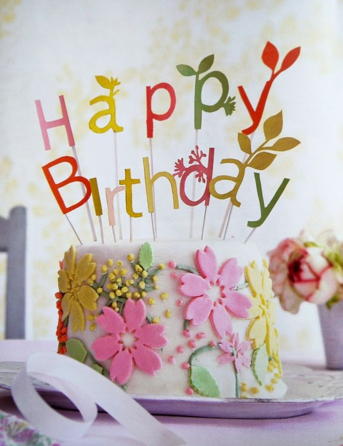Birthday Quotes With Flowers  1099 best Happy Birthday images on Pinterest
